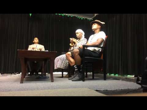 The Message with Danatus King on NOA TV ~ Voodoo Chief Divine Prince Ty Emmecca
