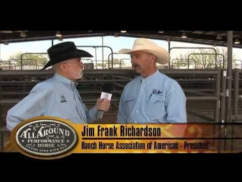 Jim Frank Richardson feeds TOTAL EQUINE!