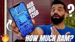 How Much RAM Do You Need In Smartphones? 2GB? 4GB? 6GB? 8GB? 12GB? 16GB?🔥🔥🔥