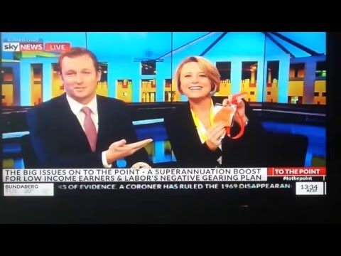To The Point - Sky News - Kristina Keneally teases PVO for needing to be escorted in Parliament
