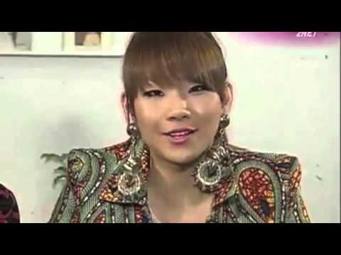 CL 2NE1 speaks french