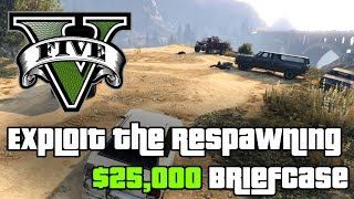 GTA 5 — Endless $25,000 Briefcases (GTA V Easter Egg)