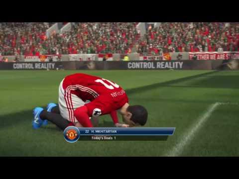 Pro Evolution Soccer 2017 -  Zlatan Assist For Mkhitaryan