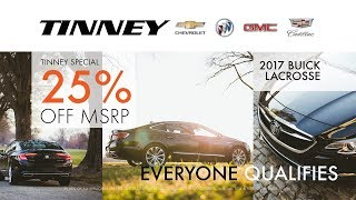 2017 Buick LaCrosse Discount for EVERYONE at Tinney Automotive in Greenville MI