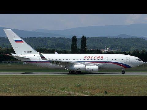 Rossiya Special Flight Squadron Ilyushin IL-96 Landing At Graz Airport   RA-96014