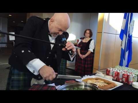 Celebrating Robbie Burns Day: Address The Haggis