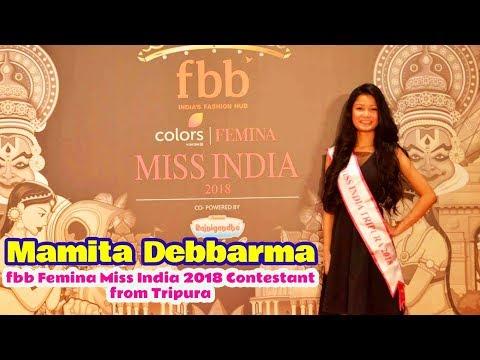Mamita Debbarma | fbb Femina Miss India 2018 Contestant from Tripura