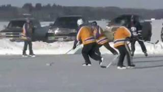 Sylvan Lake Pond Hockey Tournament