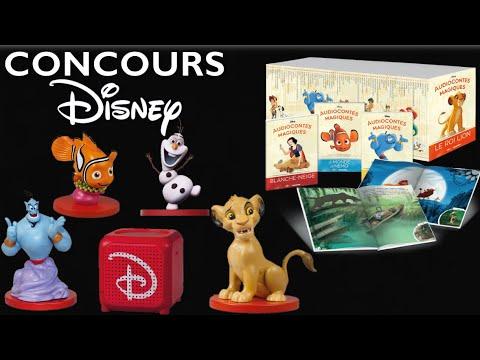 Jeu Concours Disney Cadeaux A Gagner Youtube