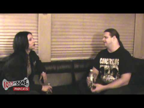 George Fisher Of Cannibal Corpse On Football (Part 7 Of7)