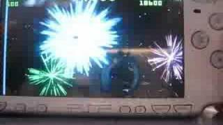 PSP Homebrew Games:Geometry Wars