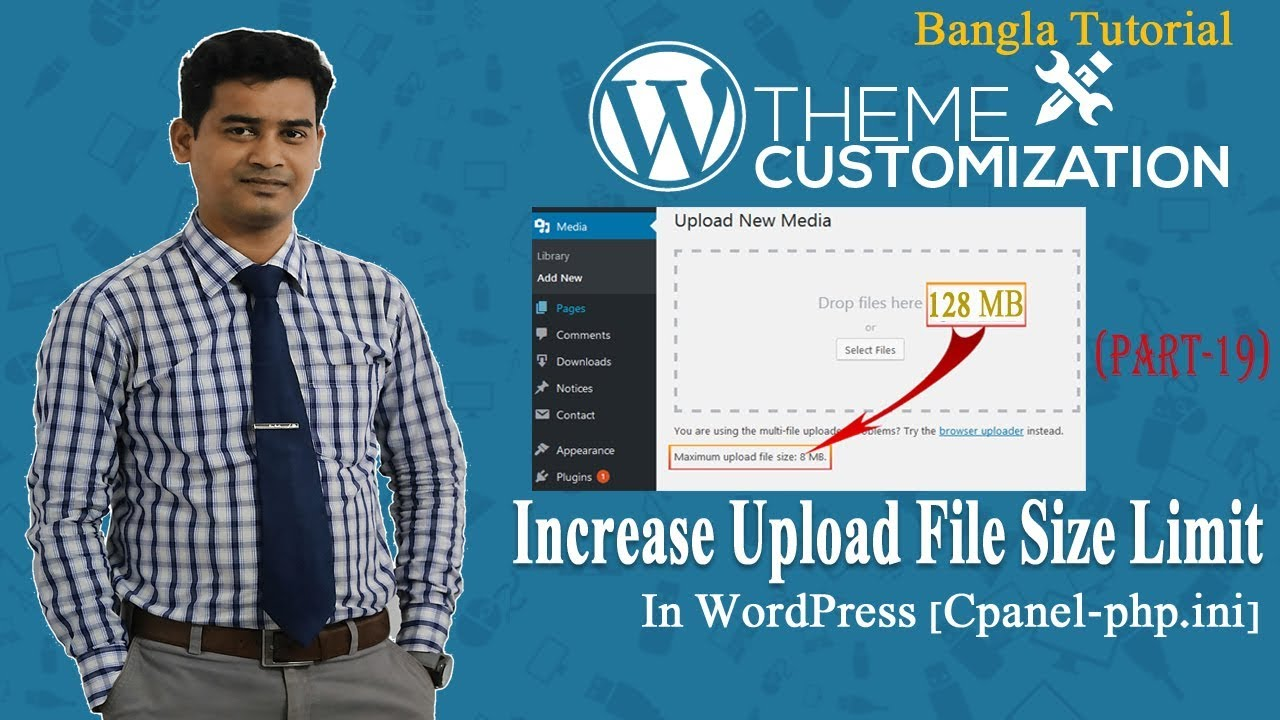 Increase WordPress File Upload Size Limit in Cpanel php.ini |  Fix Upload File Size Error in Cpanel