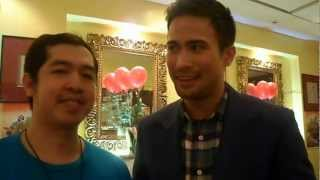 "Rocky and Sam Milby for ""24/7 in Love"""