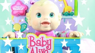 BABY ALIVE Bouncing Babbles Cute Talking Laughing Doll review