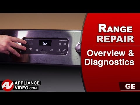 GE ( General Electric ) Range, Oven - Overview Diagnostics - error codes & troubleshooting
