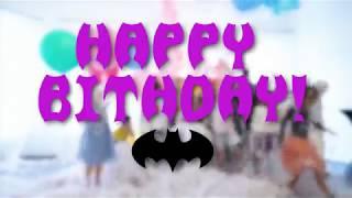 Ура!!!! Мне 9! Отмечаем День Рождения с Бэтменом и Женщиной-Кошкой)))