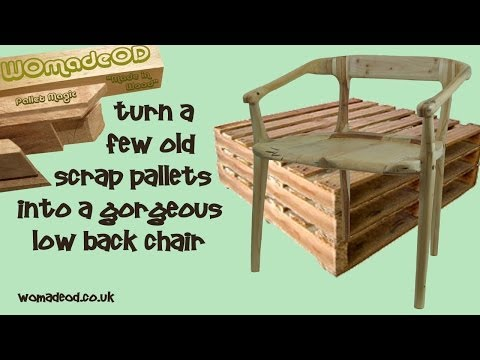 How to Make a Chair from Pallets - the WOmadeOD way
