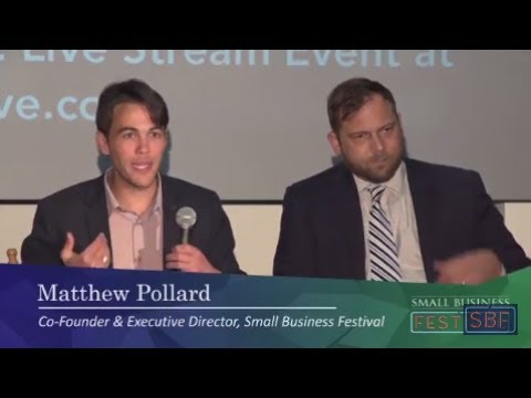 Small Business Festival Panel SBF 2017