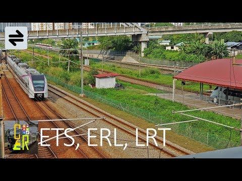[RARE] ETS , ERL , LRT at Bandar Tasik Selatan (3 in 1)