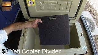 DIY $8 Divider for Yeti Coolers