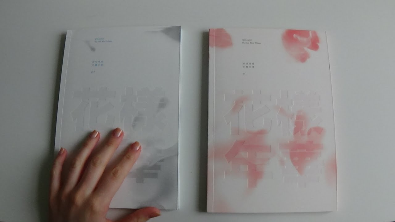 Unboxing Bts Bangtan Boys 방탄소년단 3rd Mini Album In The Mood For Love 화양연화 Pt 1 White Pink Ver Youtube