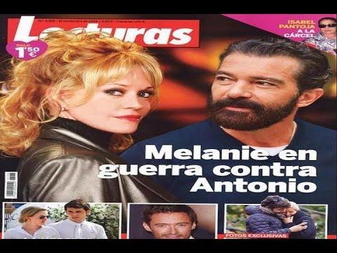 Melanie Griffith declara la guerra a Antonio Banderas