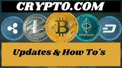 Crypto.com update! News Price Prediction and How to navigate, buy , sell, trade and more!