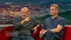 Schauspieler-Duo Leonard Lansink und Heinrich Schafmeister
