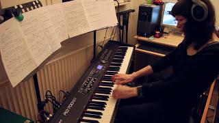 Slipknot - Snuff - piano cover, version 2 [HD]