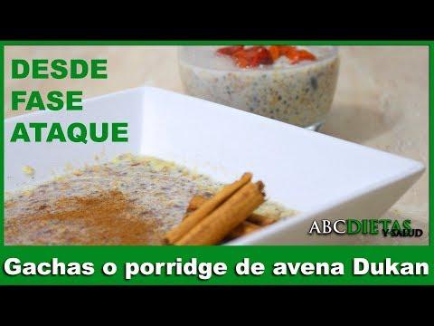 gachas-o-porridge-de-avena-dukan