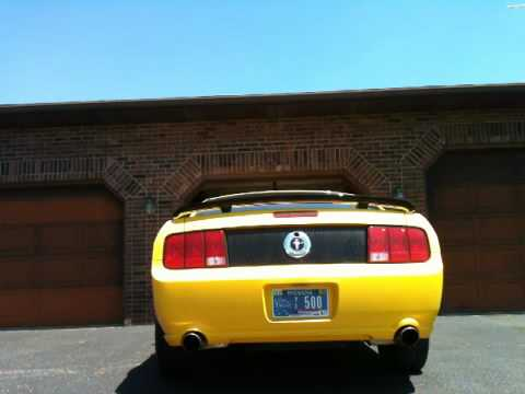 2005 v6 mustang exhaust