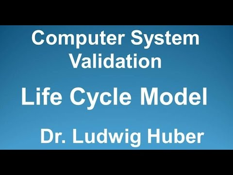 Computer System Validation Lifecycle V-model
