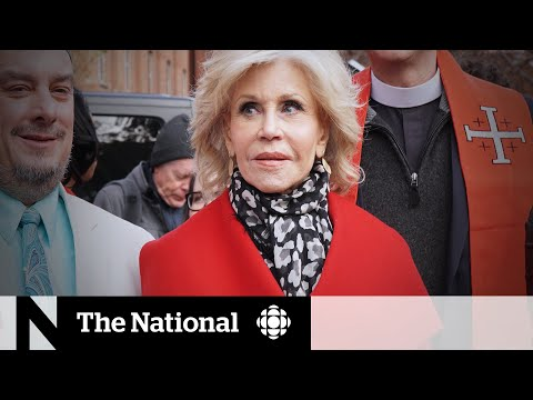 Why Jane Fonda's fiercely fighting climate change