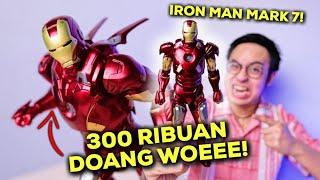 IRON MAN CUMA 300 RIBUAN? BAGUS NGGAK YA? | IRON MAN MARK VII ZD TOYS UNBOXING & REVIEW