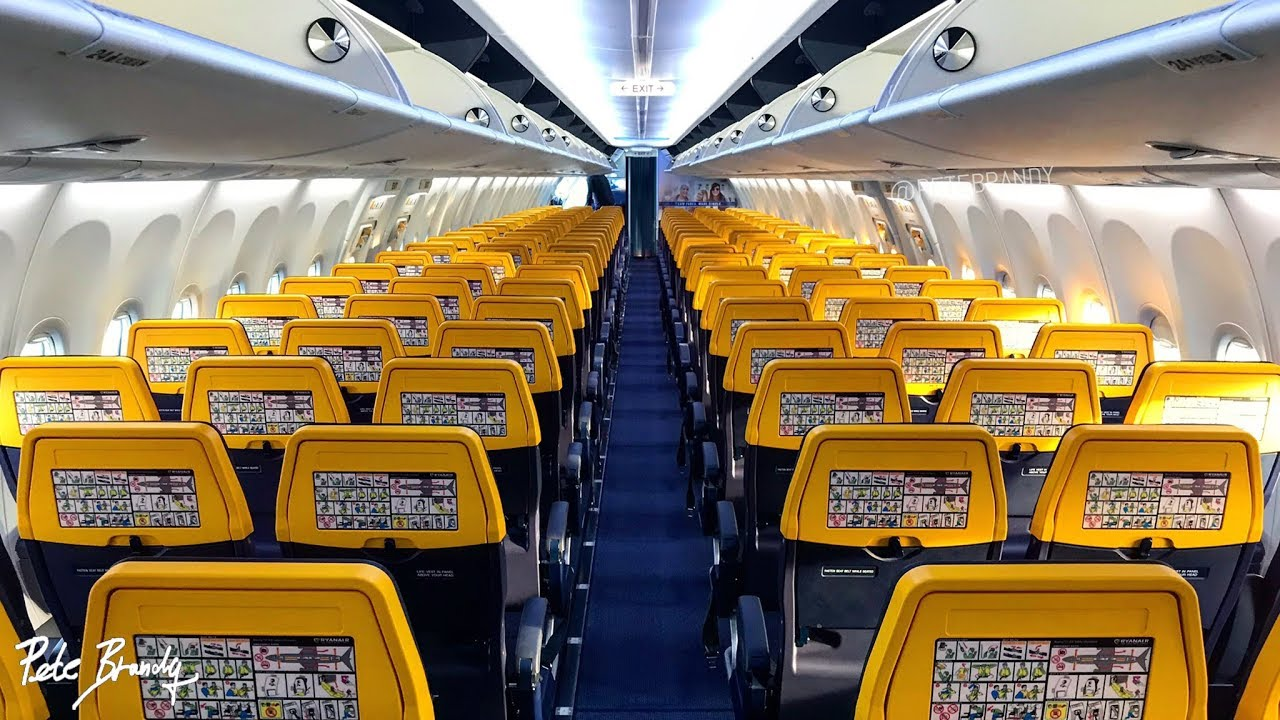 TRIP REPORT Ryanair (new cabin) Brussels Charleroi