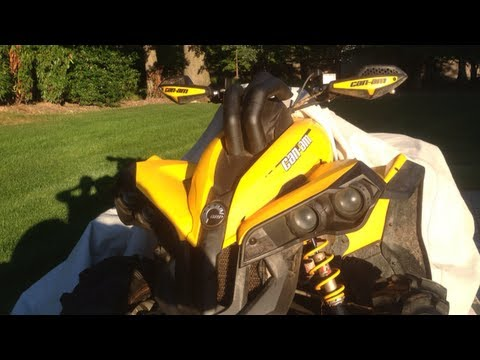 Can Am Renegade 800 >> Can Am Renegade 800 Snorkels - YouTube