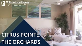 citrus pointe at the orchards new homes in upland ca
