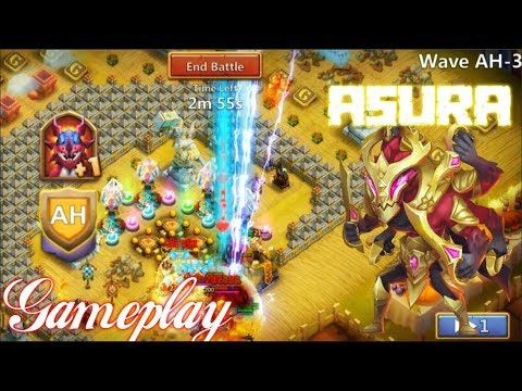 Asura HBM AH Gameplay So Tank - Castle Clash