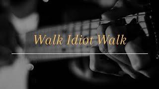 The Hives - Walk Idiot Walk. (Guitar Cover)