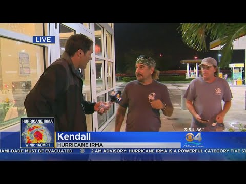 Key West Residents Evacuate At Last-Minute