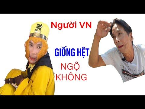 Gặp Người Việt Nam Có Khuôn Mặt Giống Hệt Tôn Ngộ Không II ĐỘC LẠ BÌNH DƯƠNG