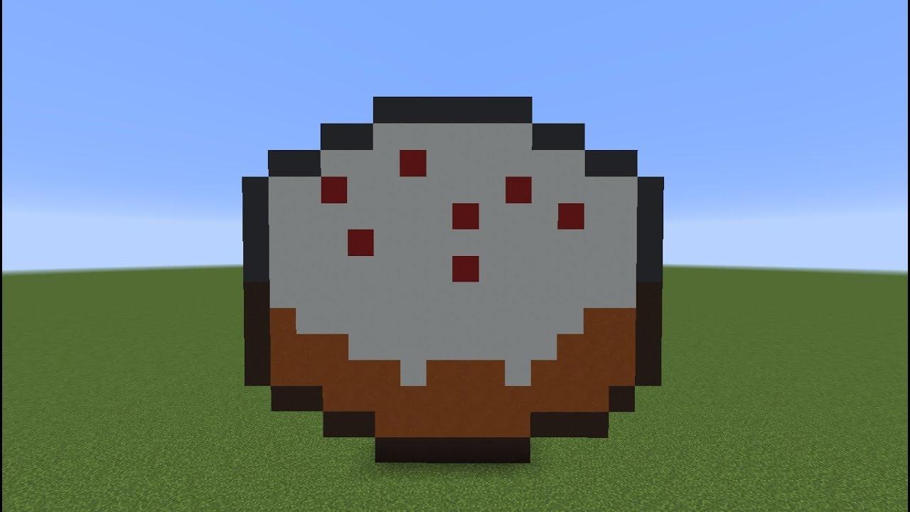 Tuto Minecraft Pixel Art Gâteau Spécial 3000 Abonnés