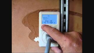 WANF Kill-a-Watt power meter and Grid Tie Inverter with Solar