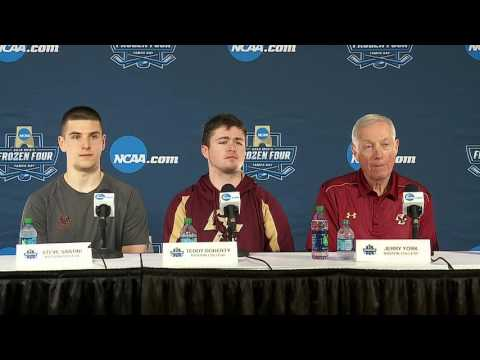 Frozen Four: Boston College Press Conference
