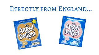 FoodMania Review Angel Delight from England