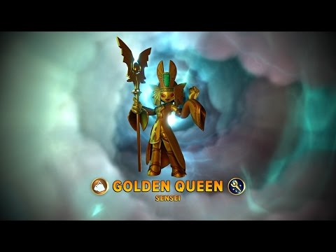 Skylanders Imaginators _ Golden Queen _ Ancient History! Guide _ (Nightmare Mode)