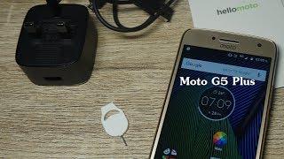 แนะนำ Moto G5 Plus สมาร์ทโฟน 4G เด่นเรื่องกล้อง โฟกัสไว จอคม ภาพสวย มีสแกนนิ้ว