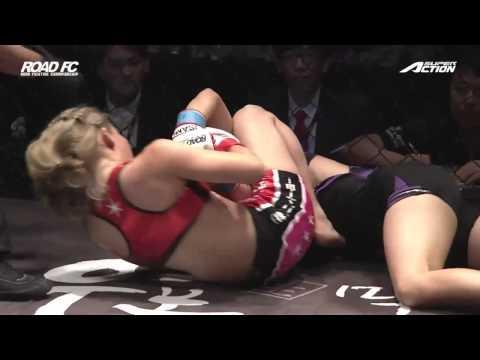 ROAD FC 024 IN JAPAN 2ND -45KG CATCHWEIGHT MATCH SATOKO SHINASHI 2R TKO