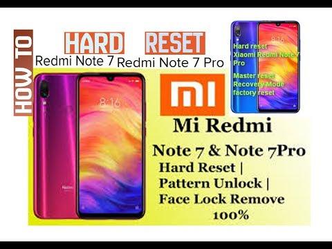 Redmi Note 7 & Redmi Note 7 Pro Hard Reset  I Om Computers