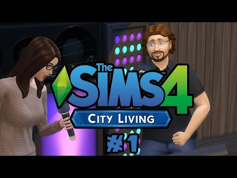 Let's Play Sims 4: City Living! - Episode 1